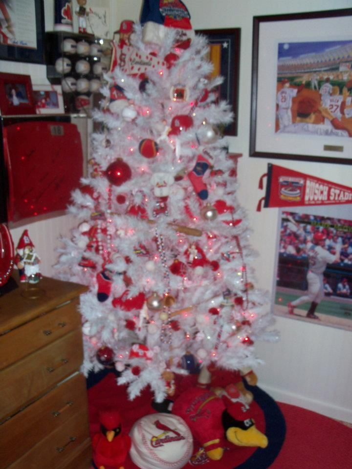 St. Louis Cardinal Tree - my dad's favorite baseball team <3 - St. Louis Cardinal Tree - My Dad's Favorite Baseball Team <3