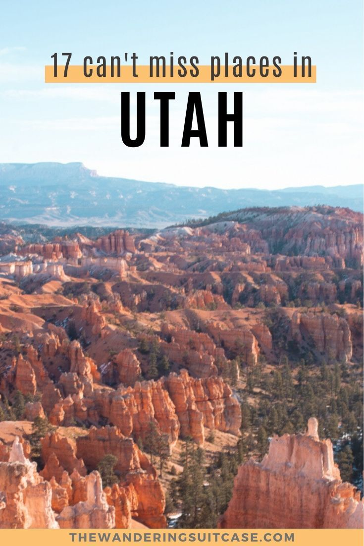 Can't miss places on your Utah Road trip. Bucket list destinations in Utah. Things to do in Utah. Southwest USA road trips.