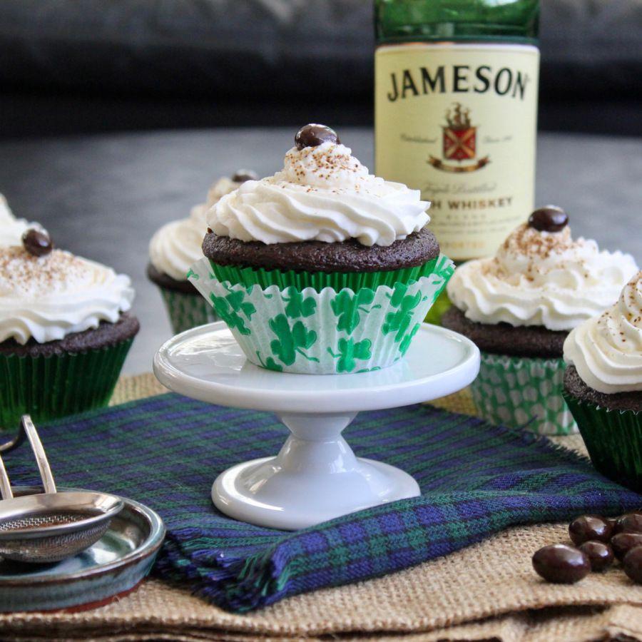 Irish Coffee Cupcakes Coffee cupcakes Desserts Cupcakes