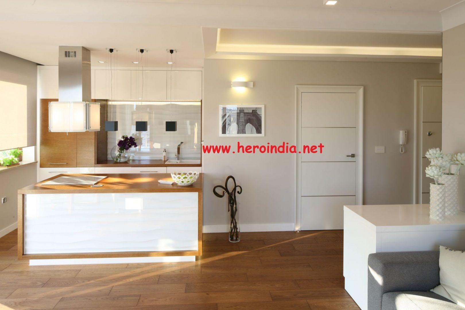 Otwarta kuchnia w bieli hola design homesquare - 15 Pomyslow Na Salon Z Aneksem 5 Jpg 940 626 Mieszkanie Pinterest