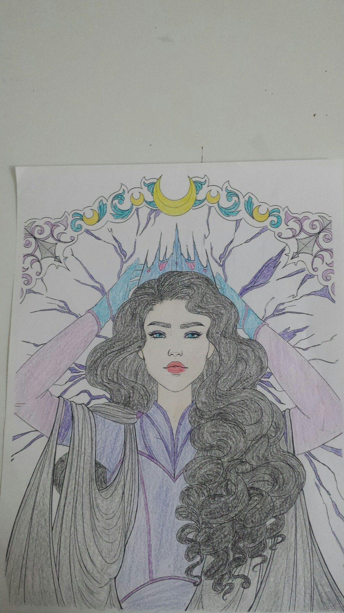 This Is Queen Levana From The Lunar Chronicles By Marissa Meyer I
