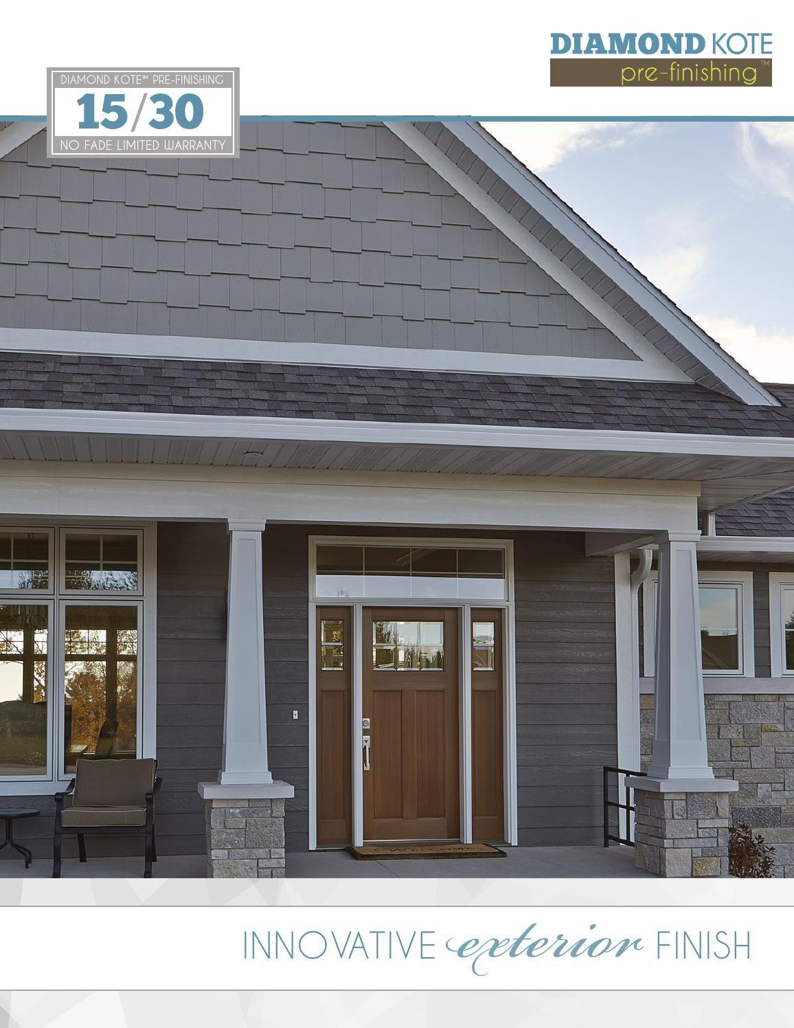 Diamond Kote Consumer Catalog | Home Exteriors | Exterior house