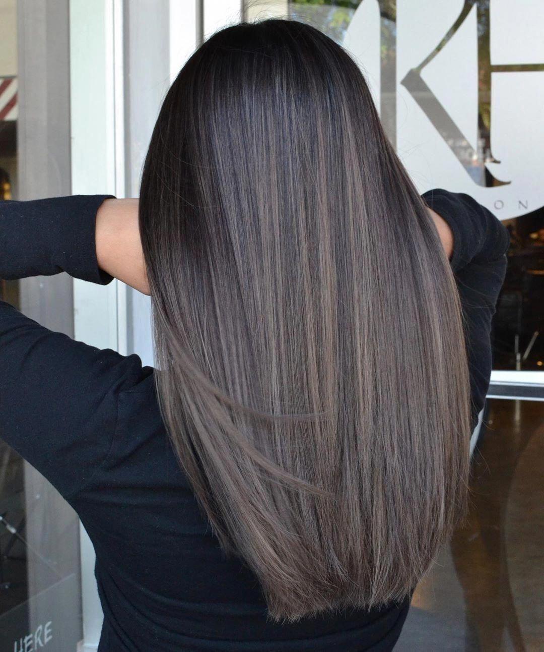 Pin on dark brown hair