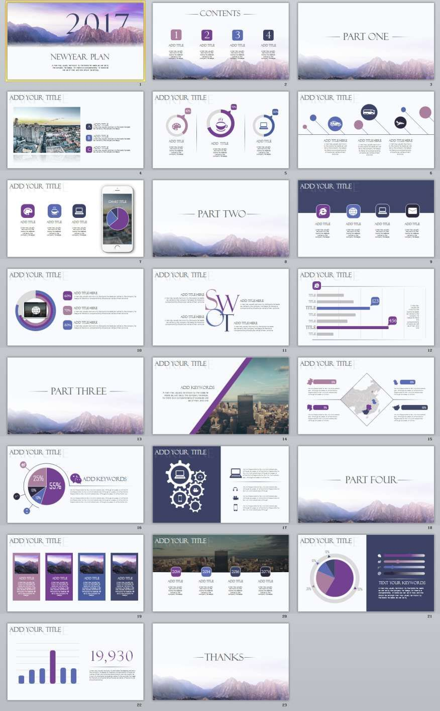 23+ Business Report Slides PowerPoint templates | Template, Business ...