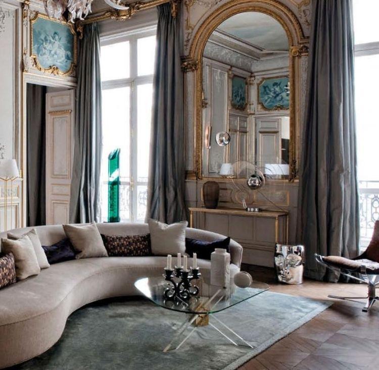 Modernes Mobiliar im Raum in Barock Stil Gestaltung | barock living ...