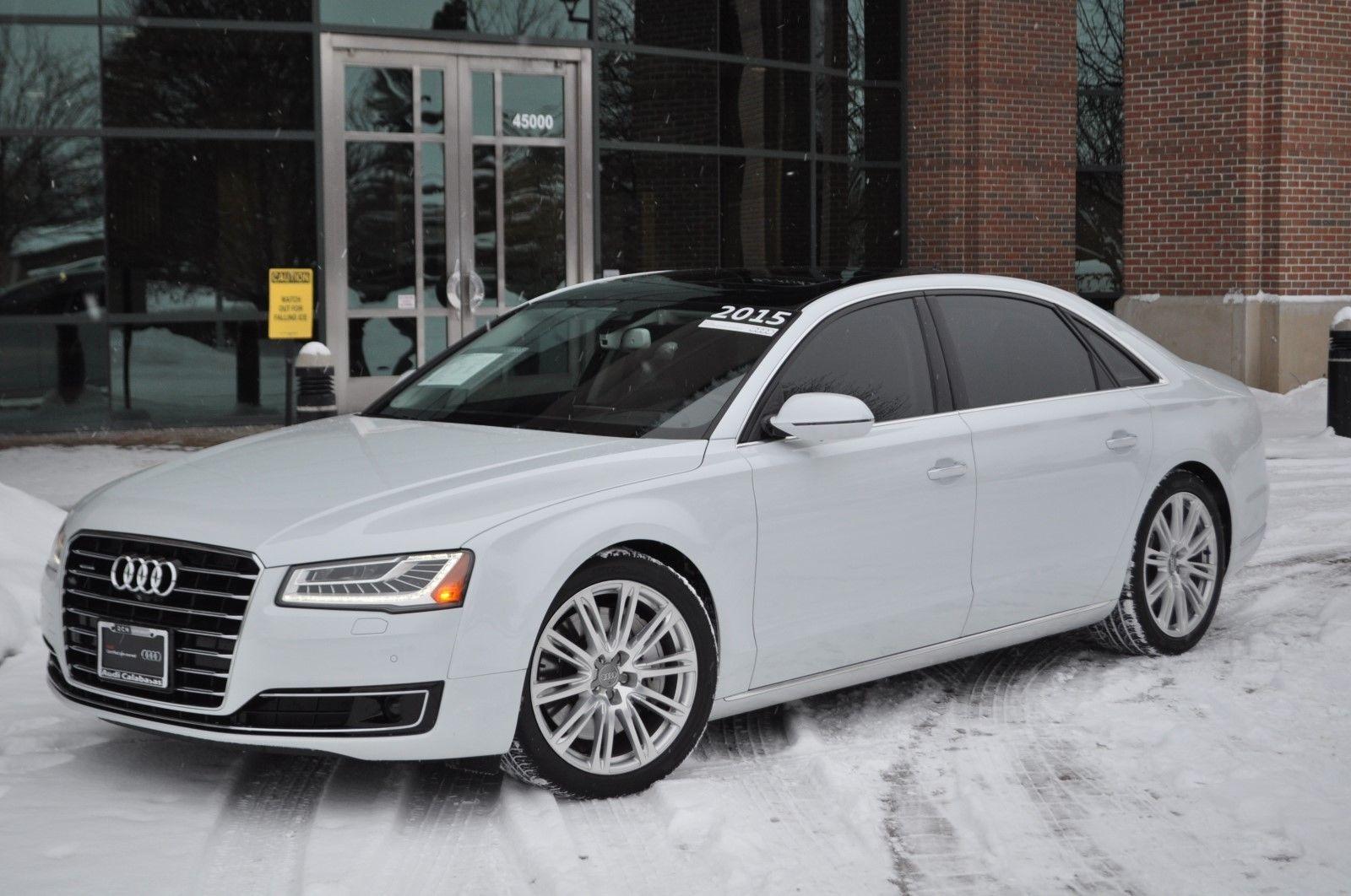 Audi 2015 A8 White