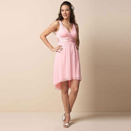 JOLIEJolie Petite Built Shoulder Empire Waist Dress