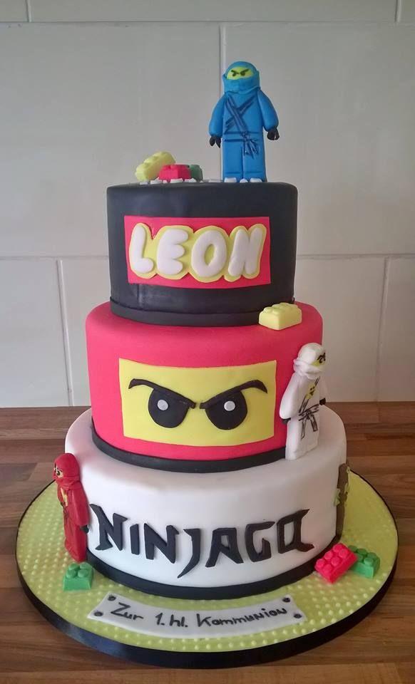 Ninjago torte kuchen pinterest for Decorazioni torte ninjago