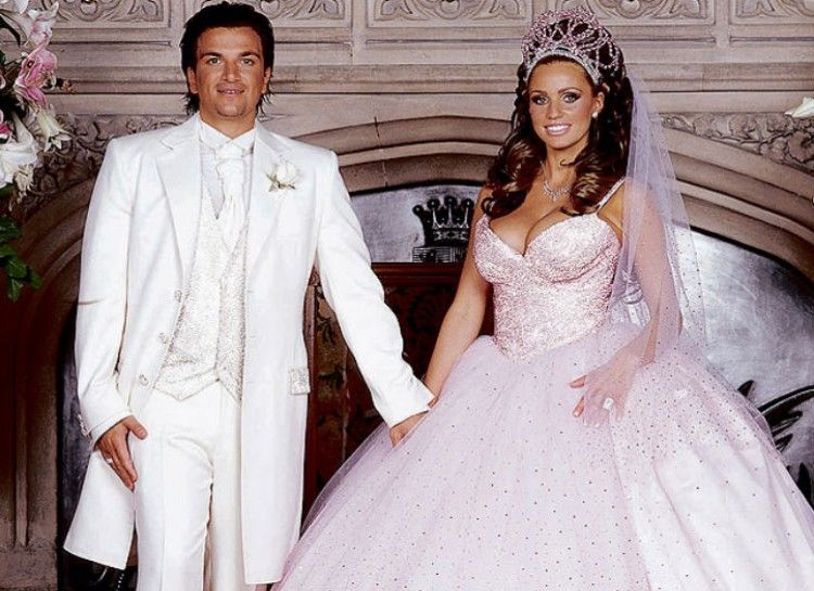 Katie Prices Famous Pink Fairytale Wedding Dress Something Different From The