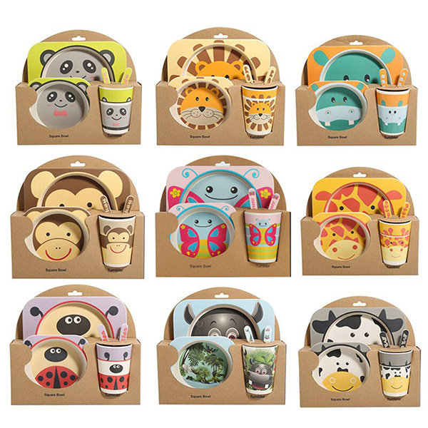 Children S Dinner Set From Apollo Box In 2020 Baby Dish Sets Baby Dishes Kid Utensils