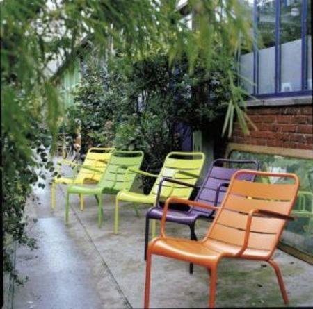 French Furniture Im Freien