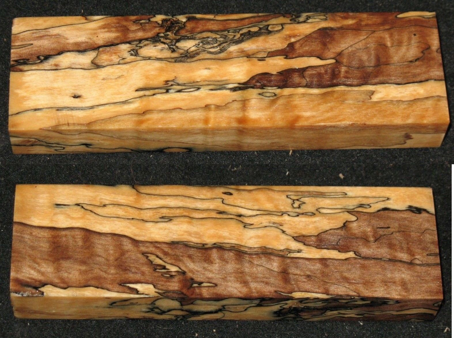 Woodworking Lumber 84011 Stabilized Quilted Spalted Maple Blank Craft Art Knife Call Pen Blank 6 Aaaaa Buy It Now Only Knife Art Spalted Maple Pen Blanks
