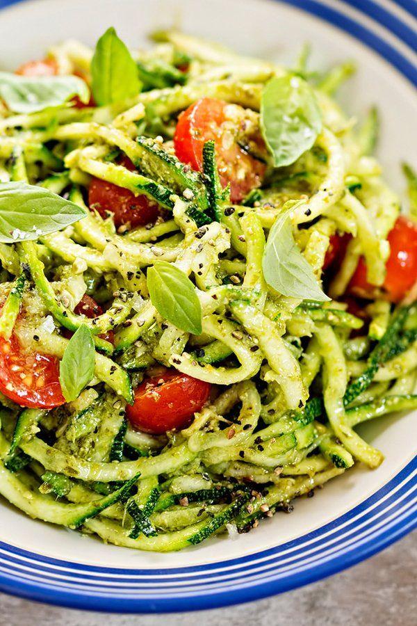Photo of The best zucchini spaghetti recipes