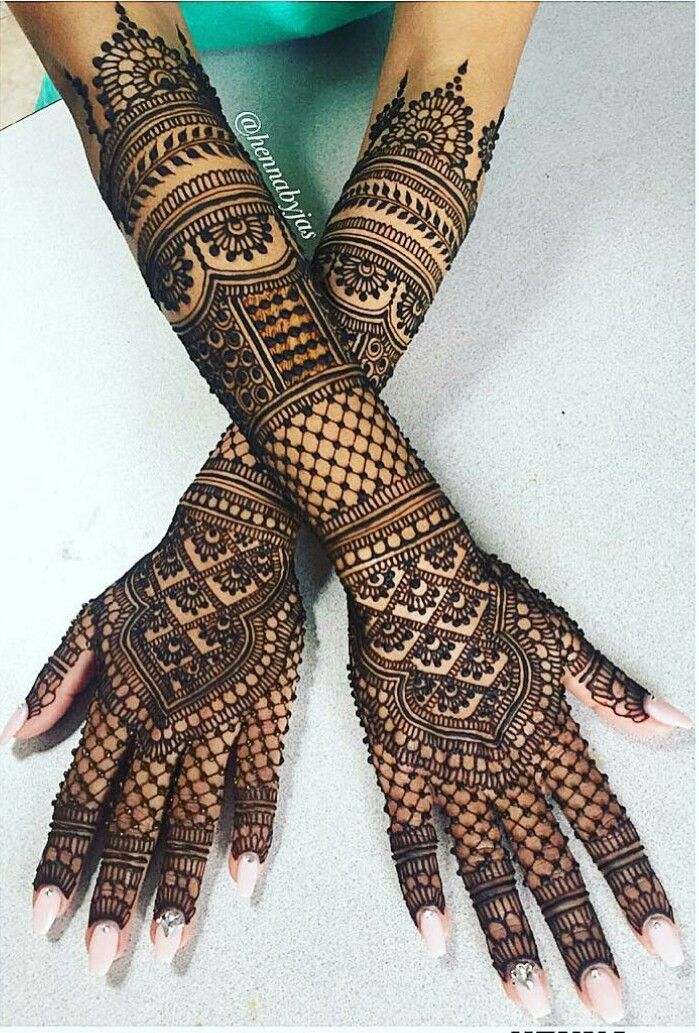 Latest bridal mehndi designs for back hands on wedmegood. Pin By Nikita Kamat On My S H Elf Arabic Bridal Mehndi Designs Wedding Mehndi Designs Mehndi Designs 2018