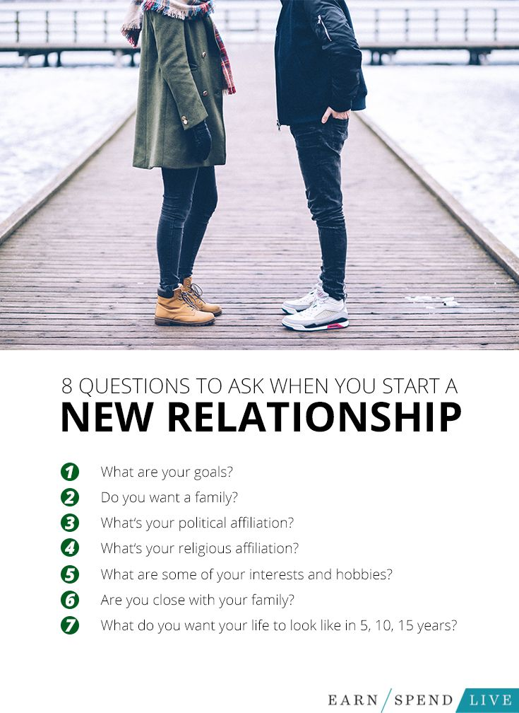 how to begin a new relationship