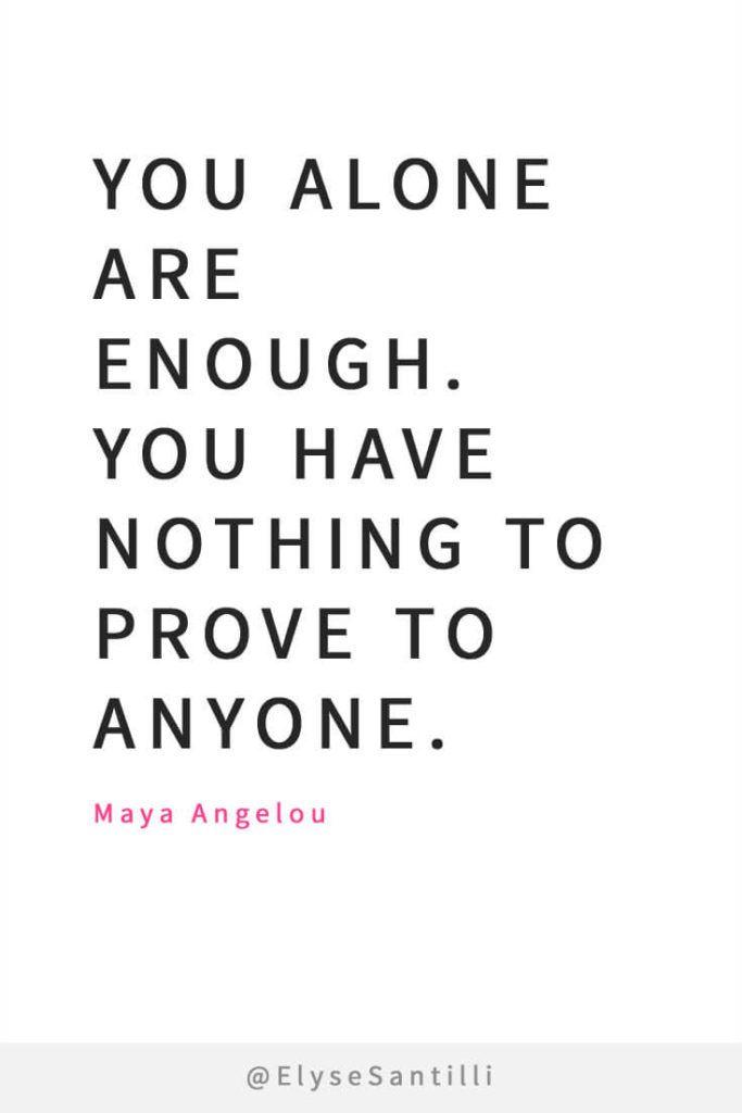 Self Quotes 15 Of The Best Quotes On Self Love  Pinterest  Maya Angelou