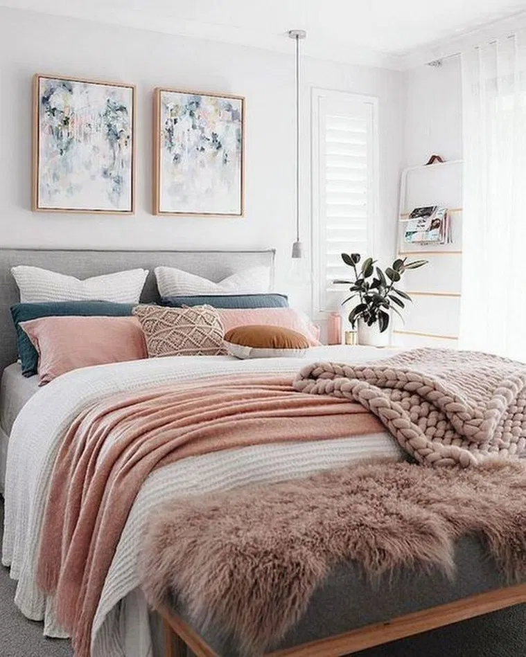 18 Cute Girls Bedroom Ideas For Small Rooms #teengirlroom #teenroomideas #teenroom – quickbrain.org #rusticbedroomfurniture