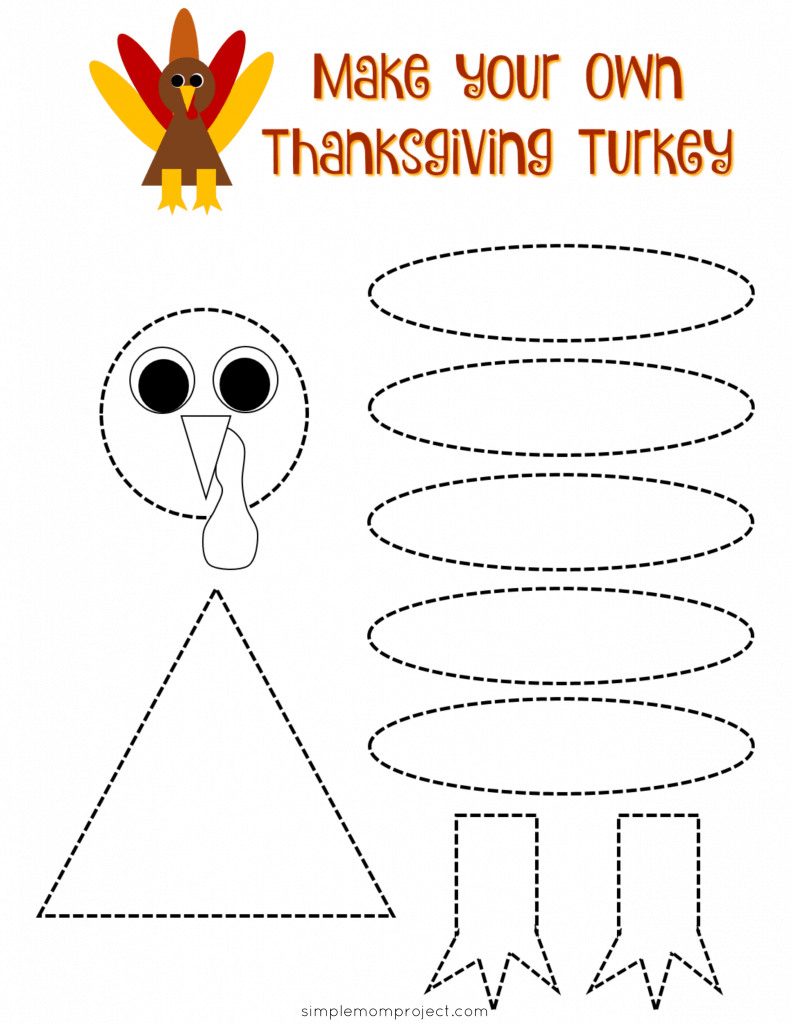 15+ Fun Fall and Thanksgiving Printable Activities for Kids - Simple Mom Project