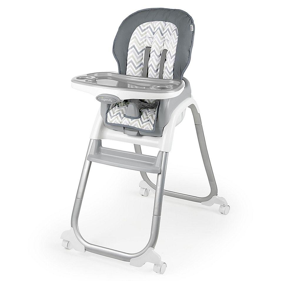 Ingenuity 3 In 1 Trio Elite High Chair In Braden Grey