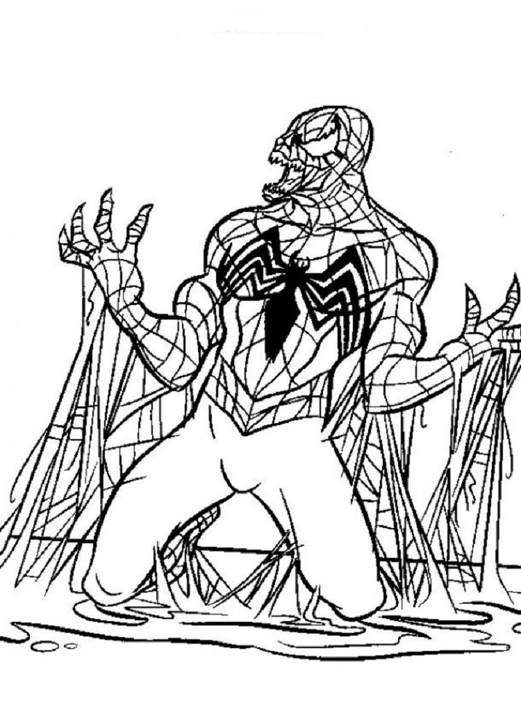 Spiderman Venom Coloring Pages New Coloring Pages Coloring Pages