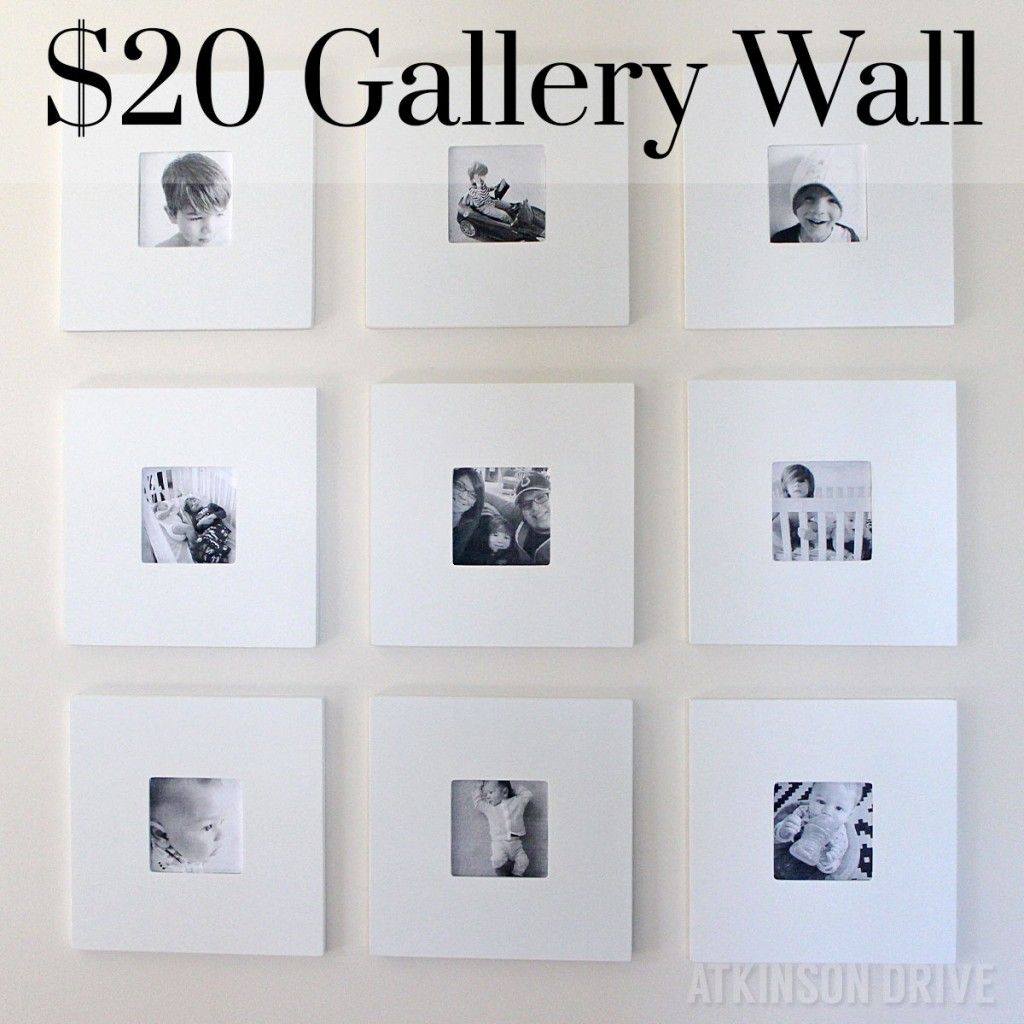 Black and White Gallery Wall | Gallery wall, Learning and Walls