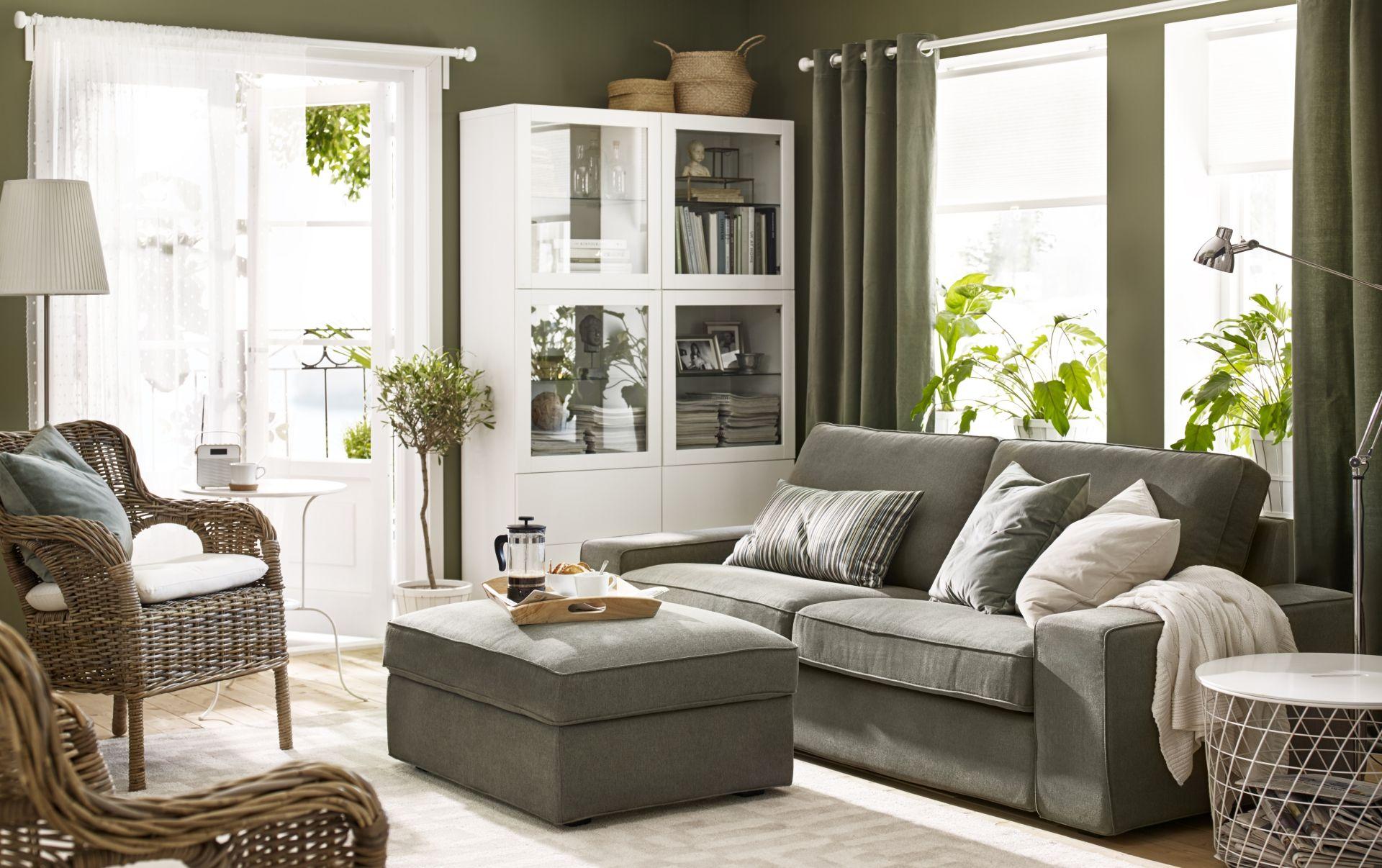 stunning kivik zitsbank borred grijsgroen ikea with ikea. Black Bedroom Furniture Sets. Home Design Ideas