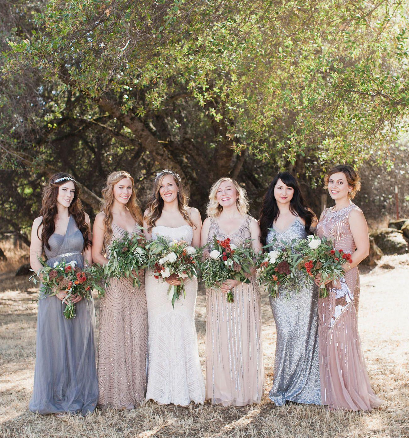 Ethereal Diy Northern California Wedding Moorea Max