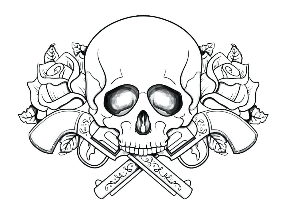 Evil Skull Tattoos | Skull coloring pages, Scary coloring pages ... | 768x1013