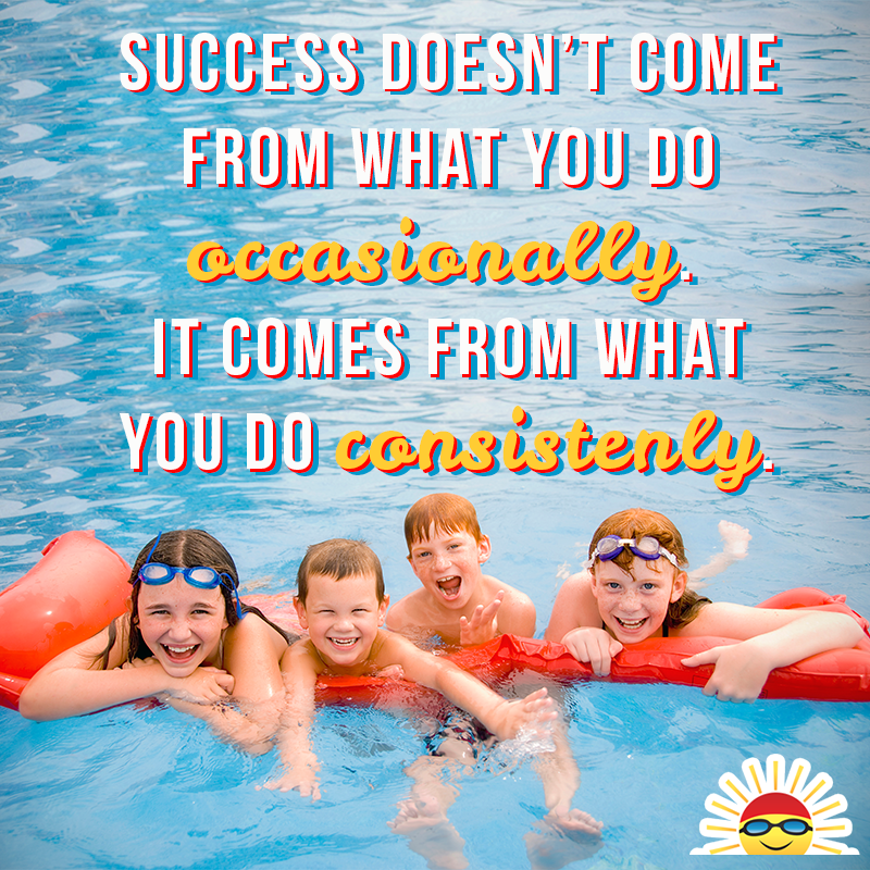 One Word Persistence Private Swim Lessons Swim Lessons Swimming Quotes