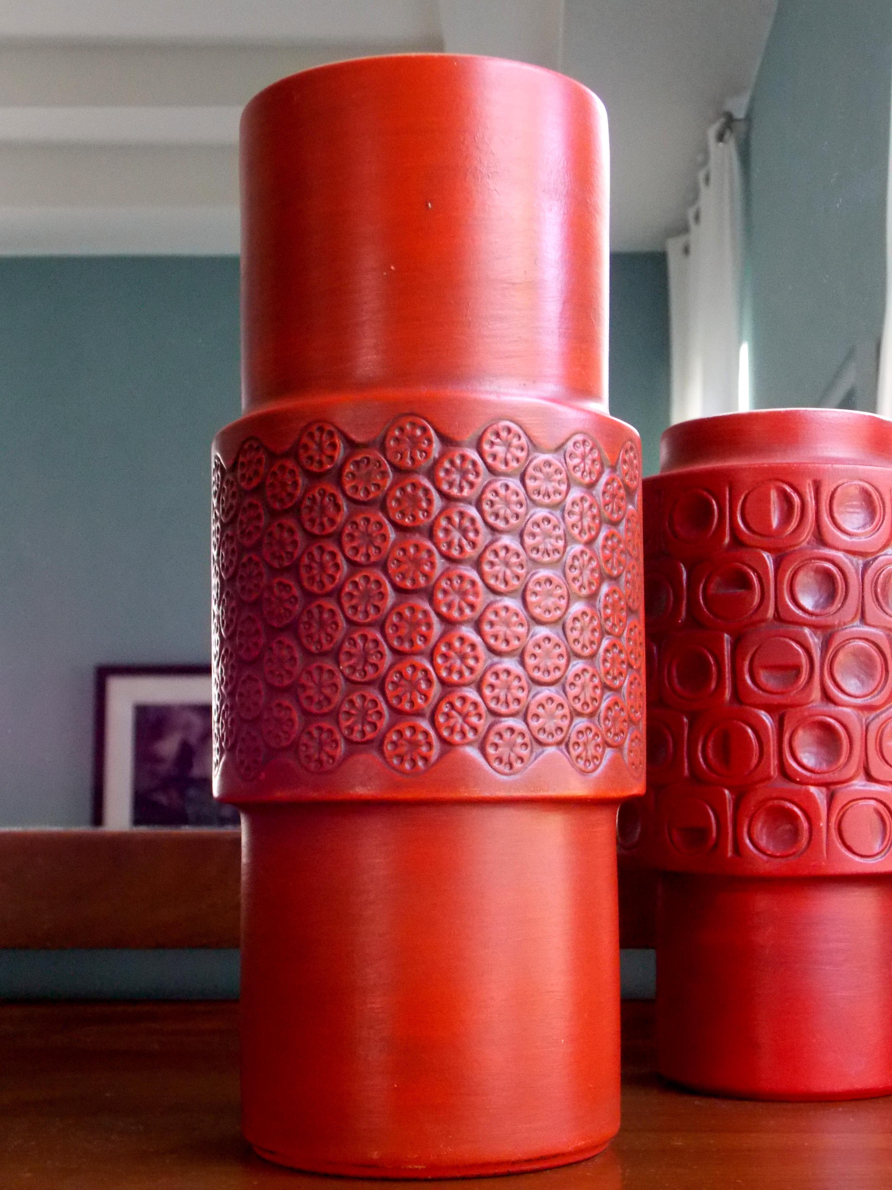 McCoy Scandia pottery vases #MidCenturyFLA https://www.etsy.com ...