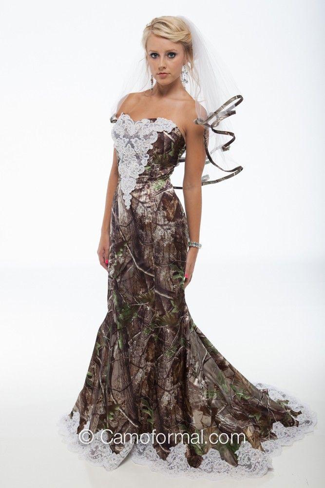 39++ Wedding dress camo info
