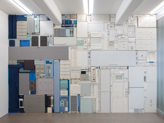 Real-Life Tetris by Artist Michael Johansson