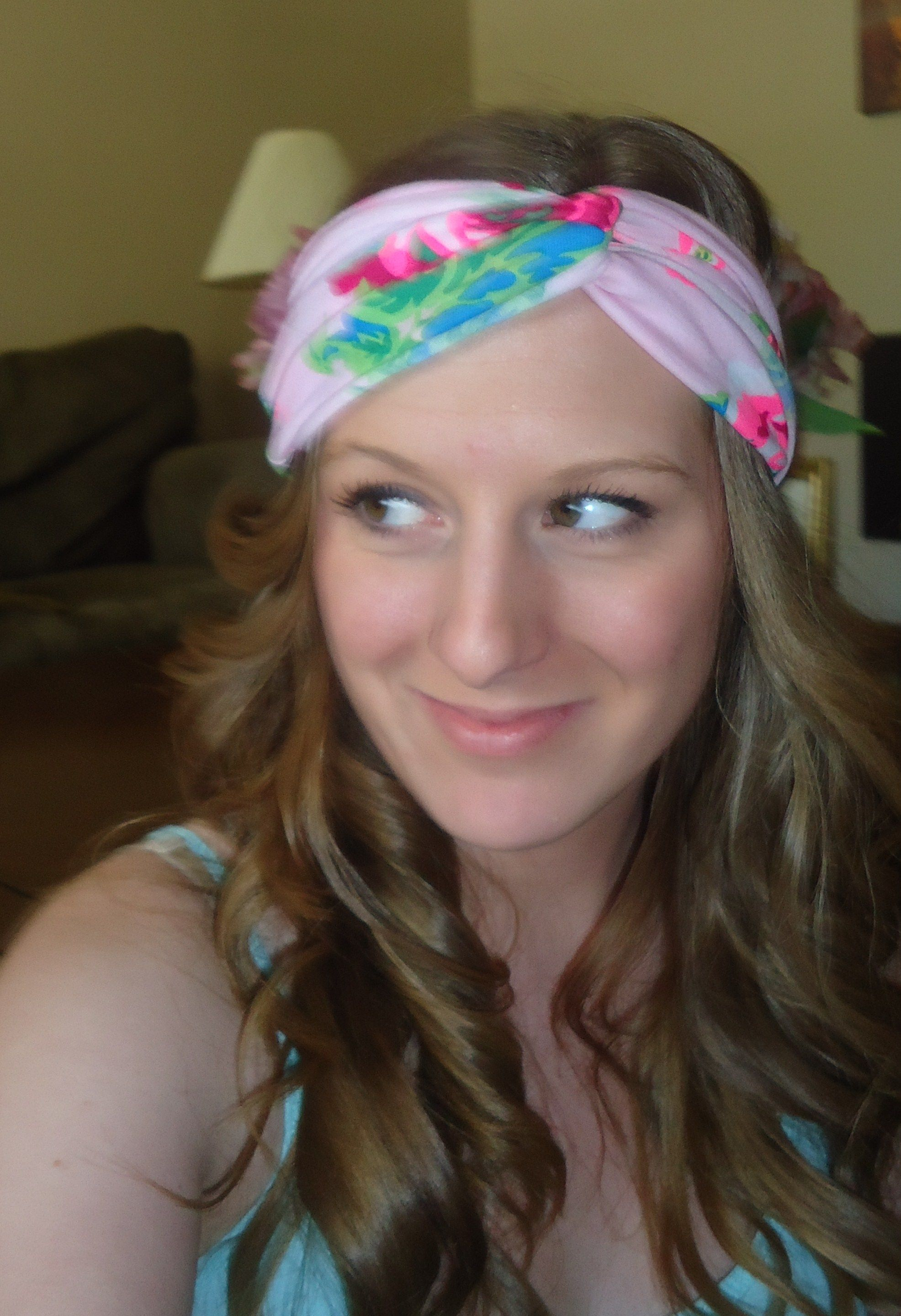 DIY Turban Headband- 100 percent no sew 891a06cd175