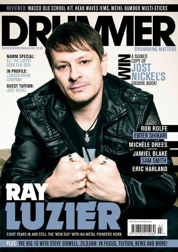 Ray Luzier of #KoRn