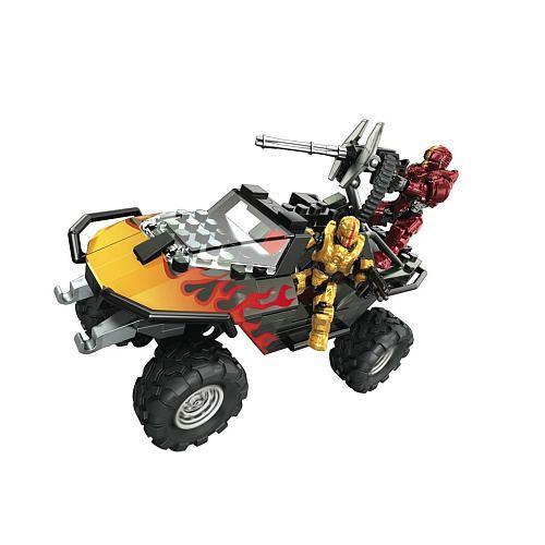 Mega Bloks Halo Warthog Building Blocks Flame Mega Brands Toys