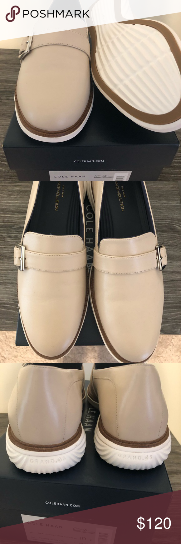 bd5b0bb7276 Brand New In Box Cole Haan Loafers Women s GrandEvølution Loafer - A next-level  integration