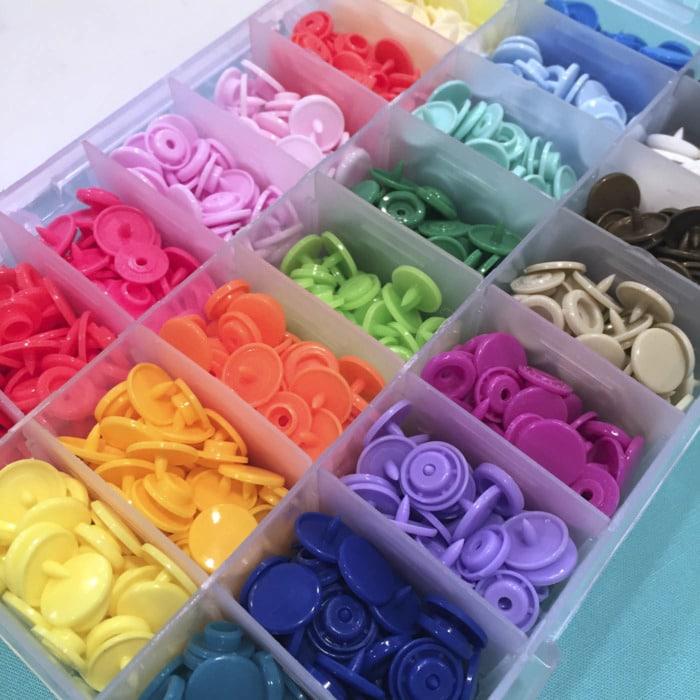 KAM Snap Fasteners | Sewing Room Essential Notions | Sewing
