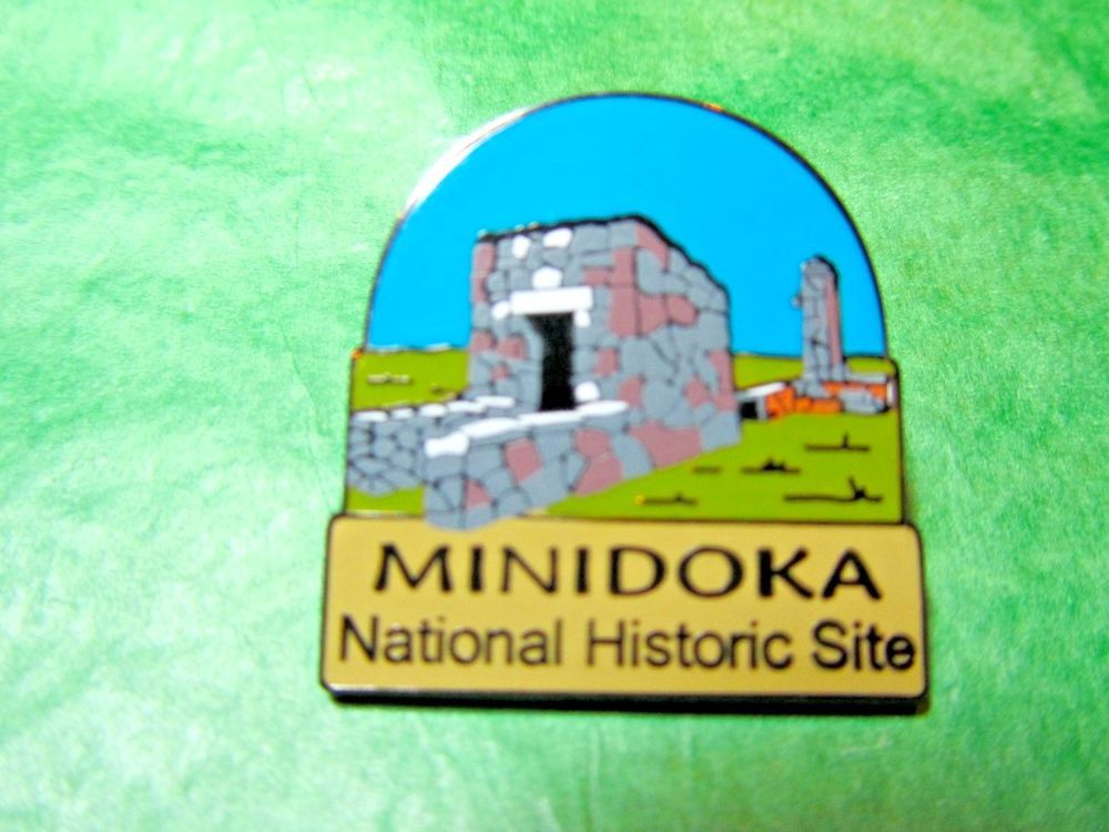 MINIDOKA NATIONAL HISTORIC SITE LAPEL HAT PIN IDAHO