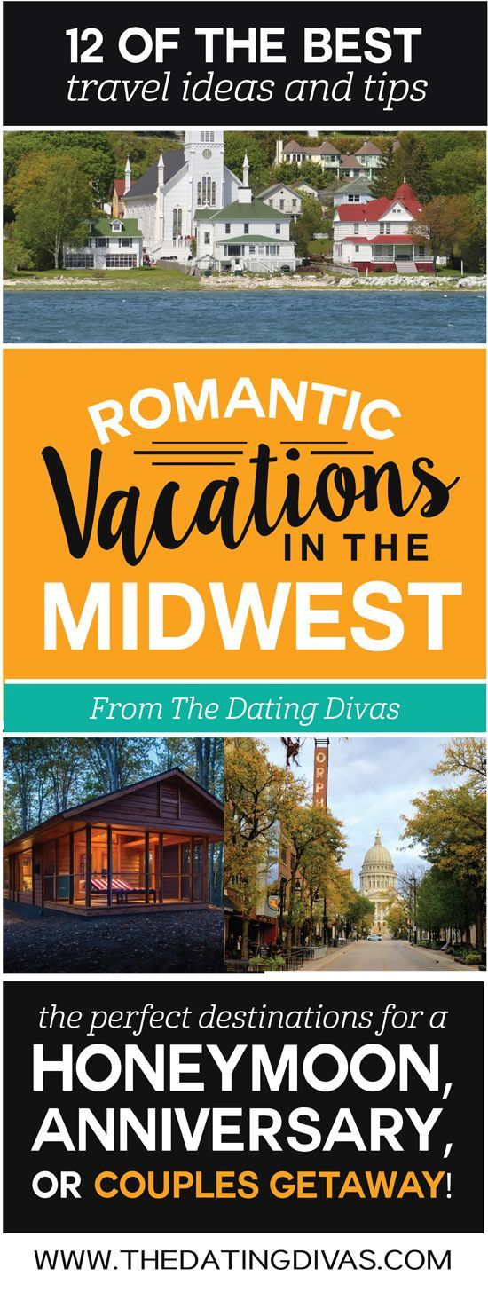 The BEST Romantic Vacation Ideas In MIDWEST Perfect For A Anniversary Trip