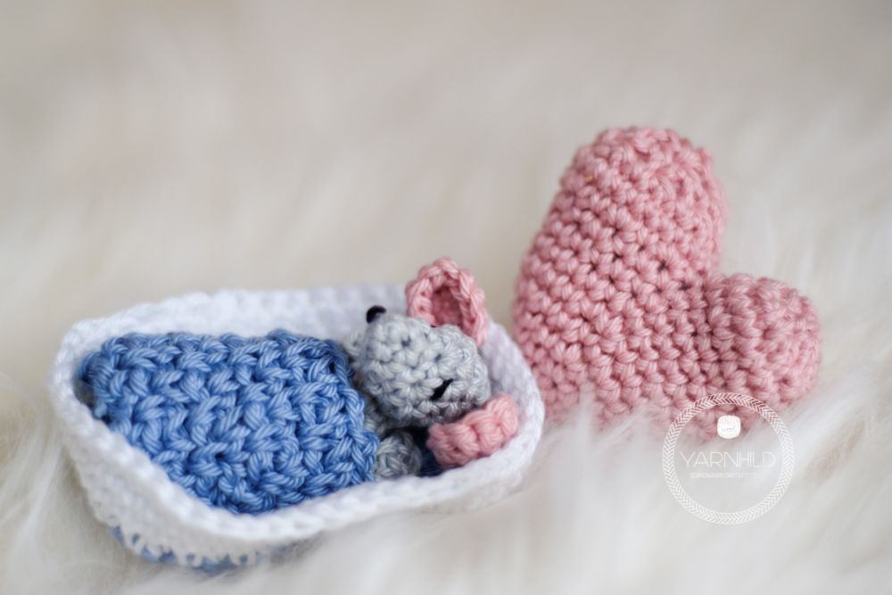 Mäuserich Malvin - Gratis Häkelanleitung | Baby mouse, Mice and ...