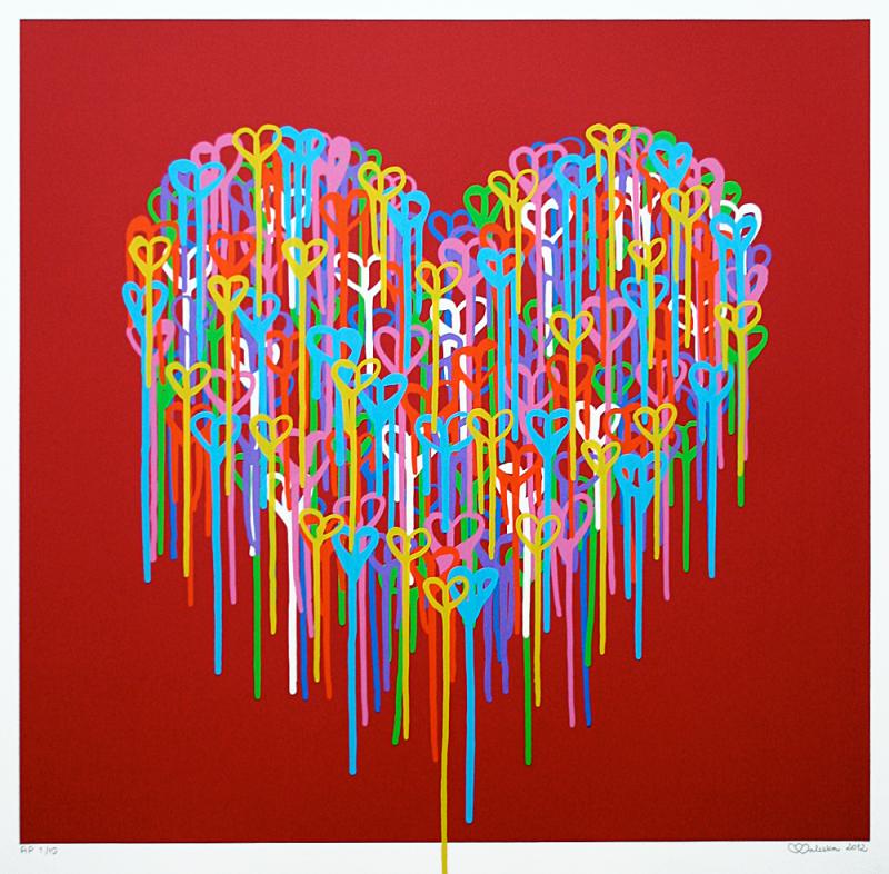 heart in love by Waleska Nomura