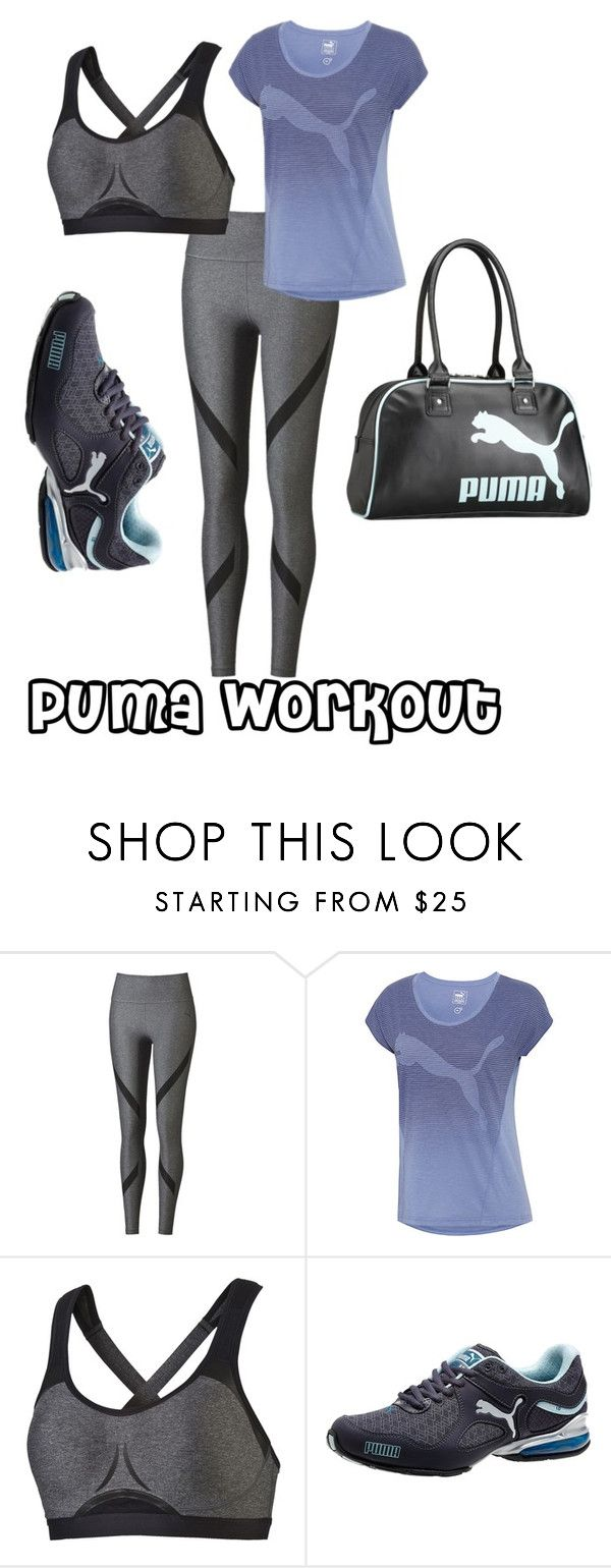 """""""Puma Workout"""" by purpleclover-1 ❤ liked on Polyvore featuring Puma"""
