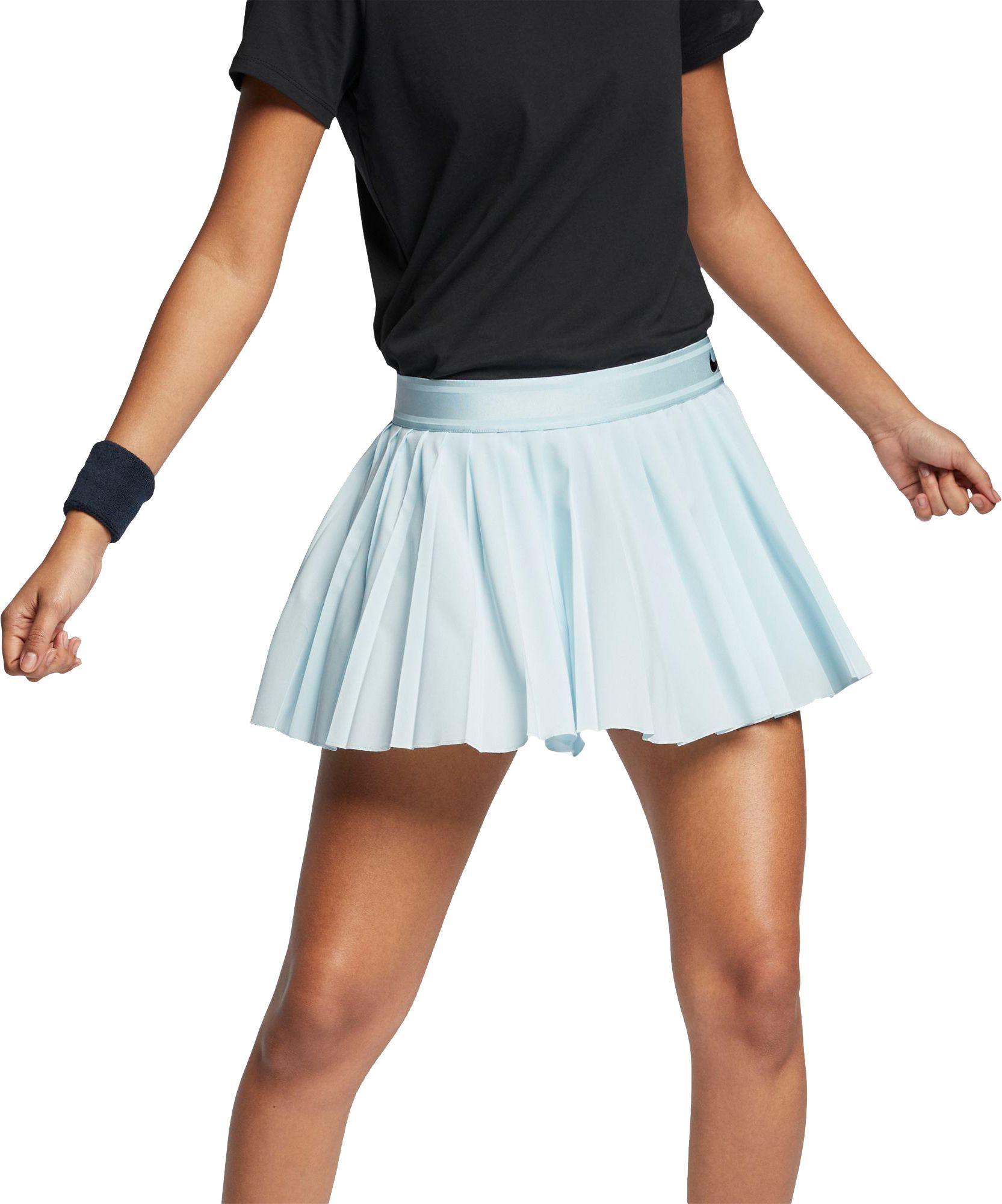 Nike Women S Court Victory Tennis Skirt Size Xl Blue In 2020 Womens Tennis Skirts Tennis Skirt Womens Tennis