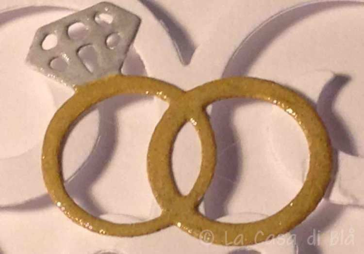 rings, diecuts, wedding, card