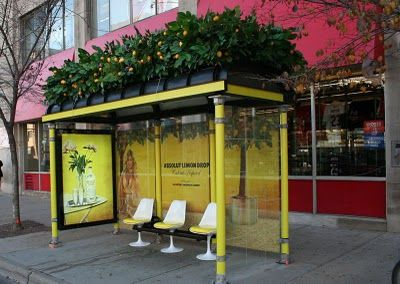 Experiential Marketing Absolut Bus Stops Street Marketing Bus