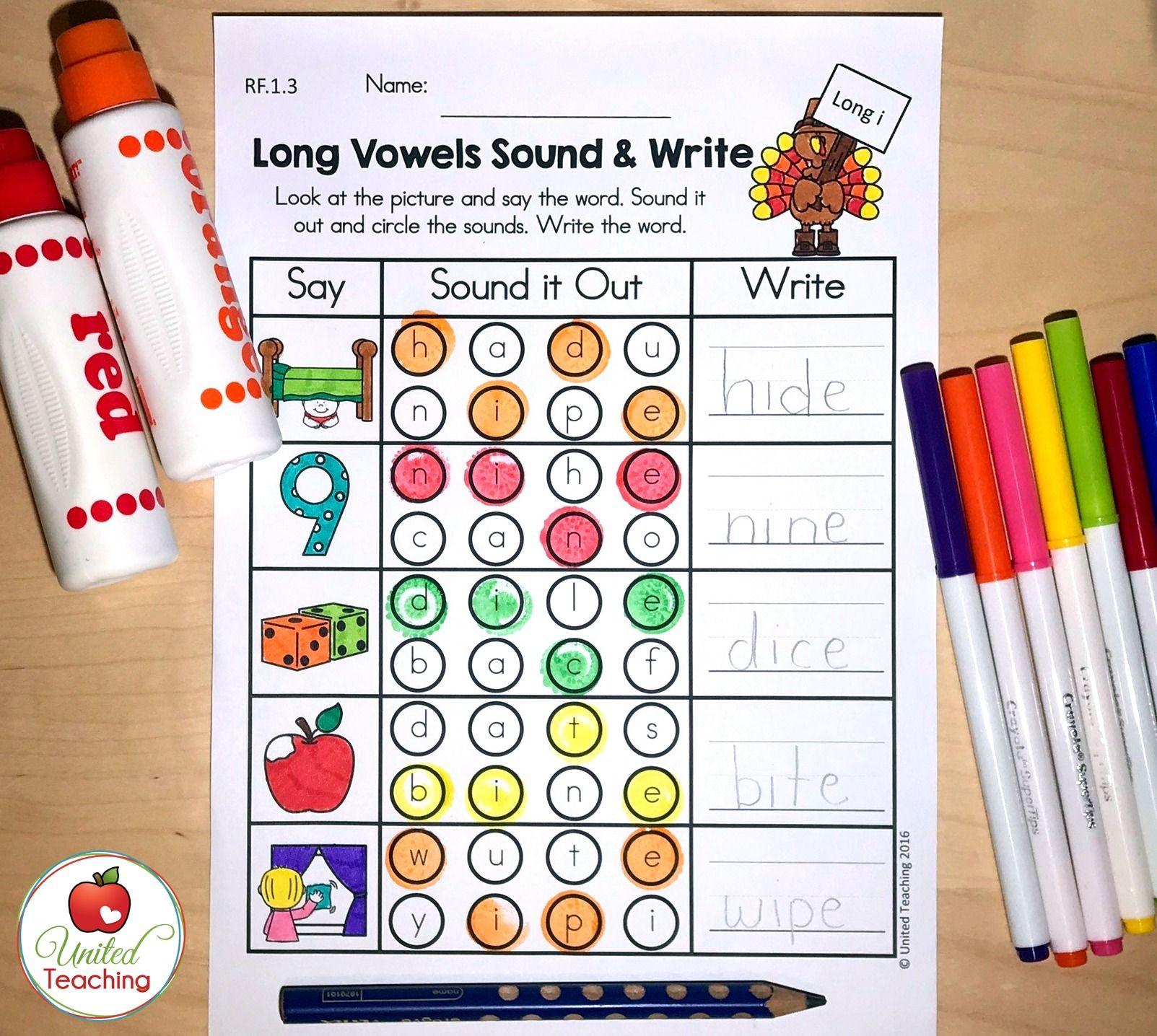 Thanksgiving Literacy Activities 1st Grade