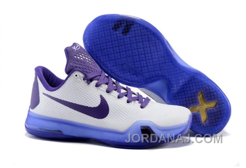buy online d19d4 90b61 2015 new Nikes Zoom Kobe X white purple men basketball shoes. Urban  Hairstyles For Women. https   www.kengriffeyshoes.com men-nike-kobe-