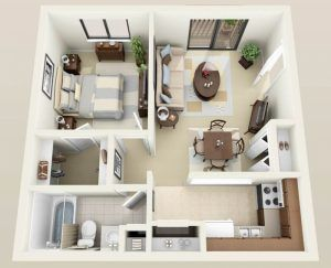 One Bedroom Apartments With Washer And Dryer 1 Bedroom Apartment With Washer And Dryer Home Apartment Furniture Layout Apartment Floor Plans Sims House Design