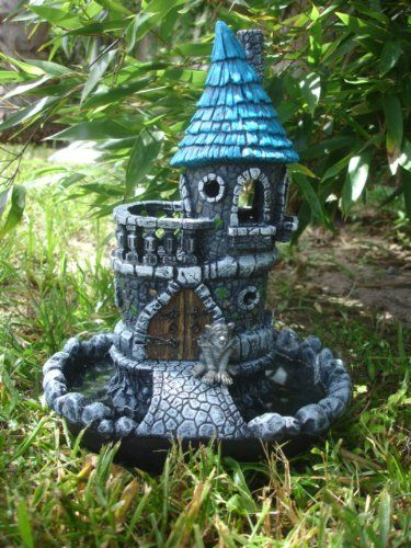 "Fiddlehead Fairy Garden ""Fiddlehead Castle & Moat Plus"
