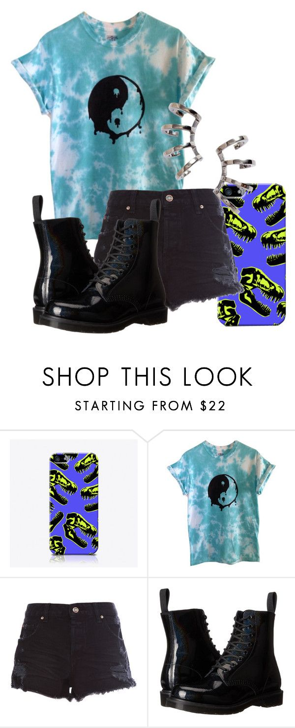 """""""Untitled #518"""" by freedom2095 ❤ liked on Polyvore featuring The Small Print., Pull&Bear, Dr. Martens and Nadri"""